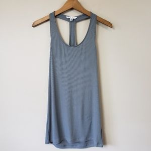 CAbi #426 Ribbed T-back Tank Top
